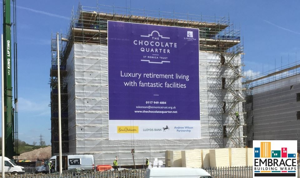 Second of The Chocolate Quarter banners  Our digitally