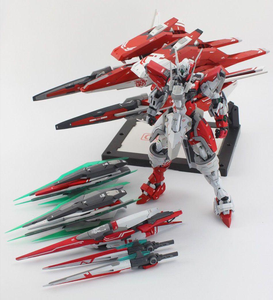 Gundam Models T Bandai Sd Bb 364 Oo Qant Qanta Quanta Guy Mg 1 100 00 Tekkeman Custom Build