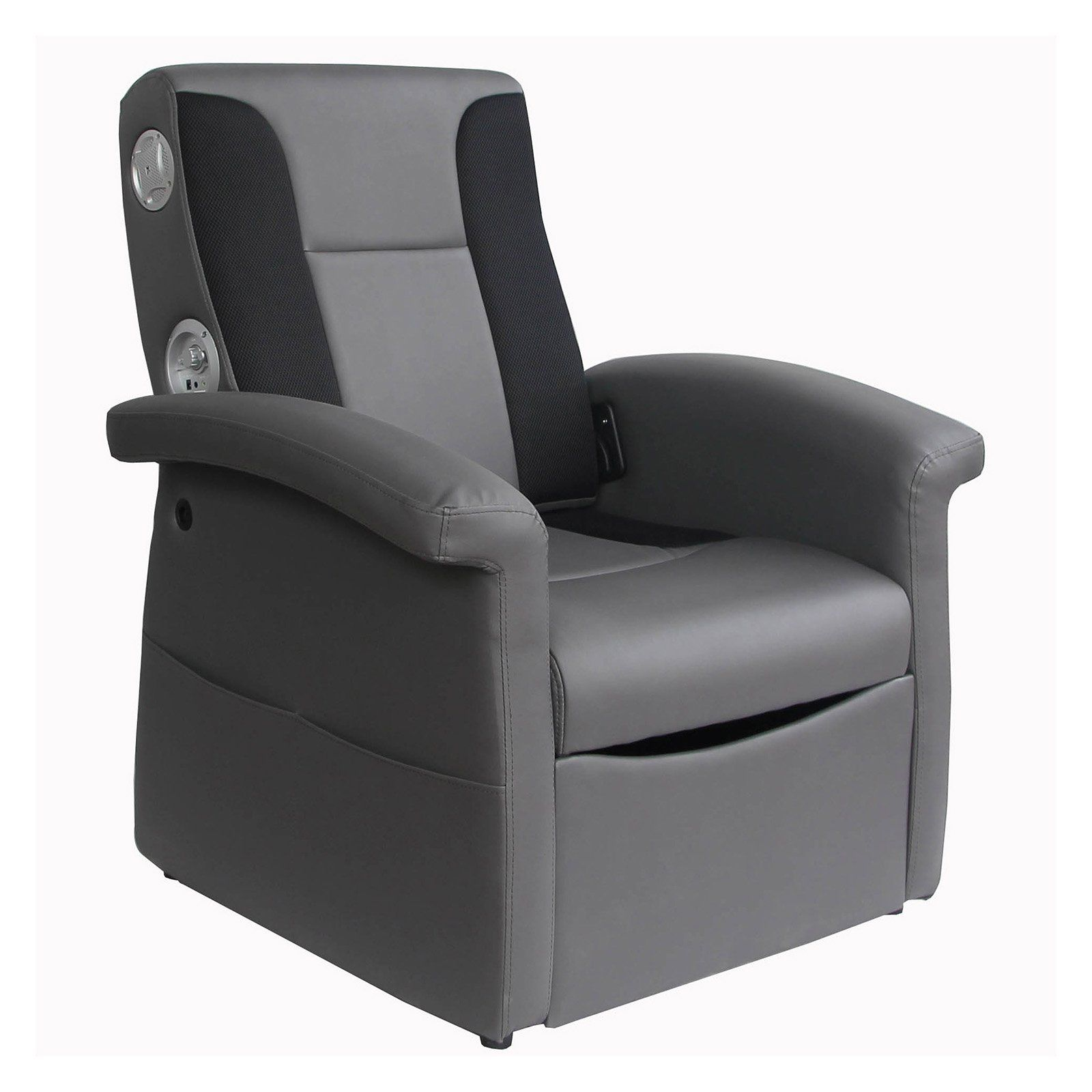Ace Bayou XRocker Storage Flip Video Game Chair with 2.1