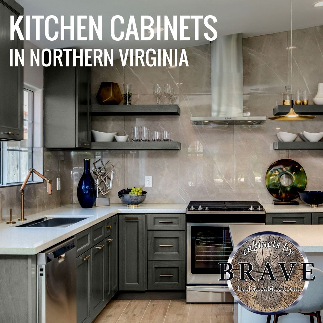 Aside From The Cabinets Itself Our Kitchen Cabinets In Northern Virginia Can Be Equipped With Organizers Living Room Cabinets Kitchen Cabinets Custom Cabinets