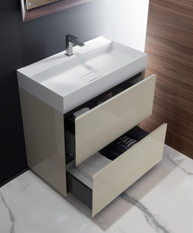 Pure Waschtischunterschränke von Falper | Waschtischunterschränke ...
