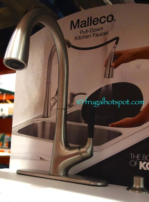 Kohler Malleco Pull-Down Kitchen Faucet. #Costco #FrugalHotspot ...