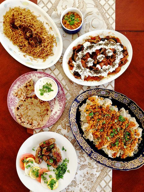 Part I Healthy Indian Afghan Fusion Dishes Daal Eggplant And