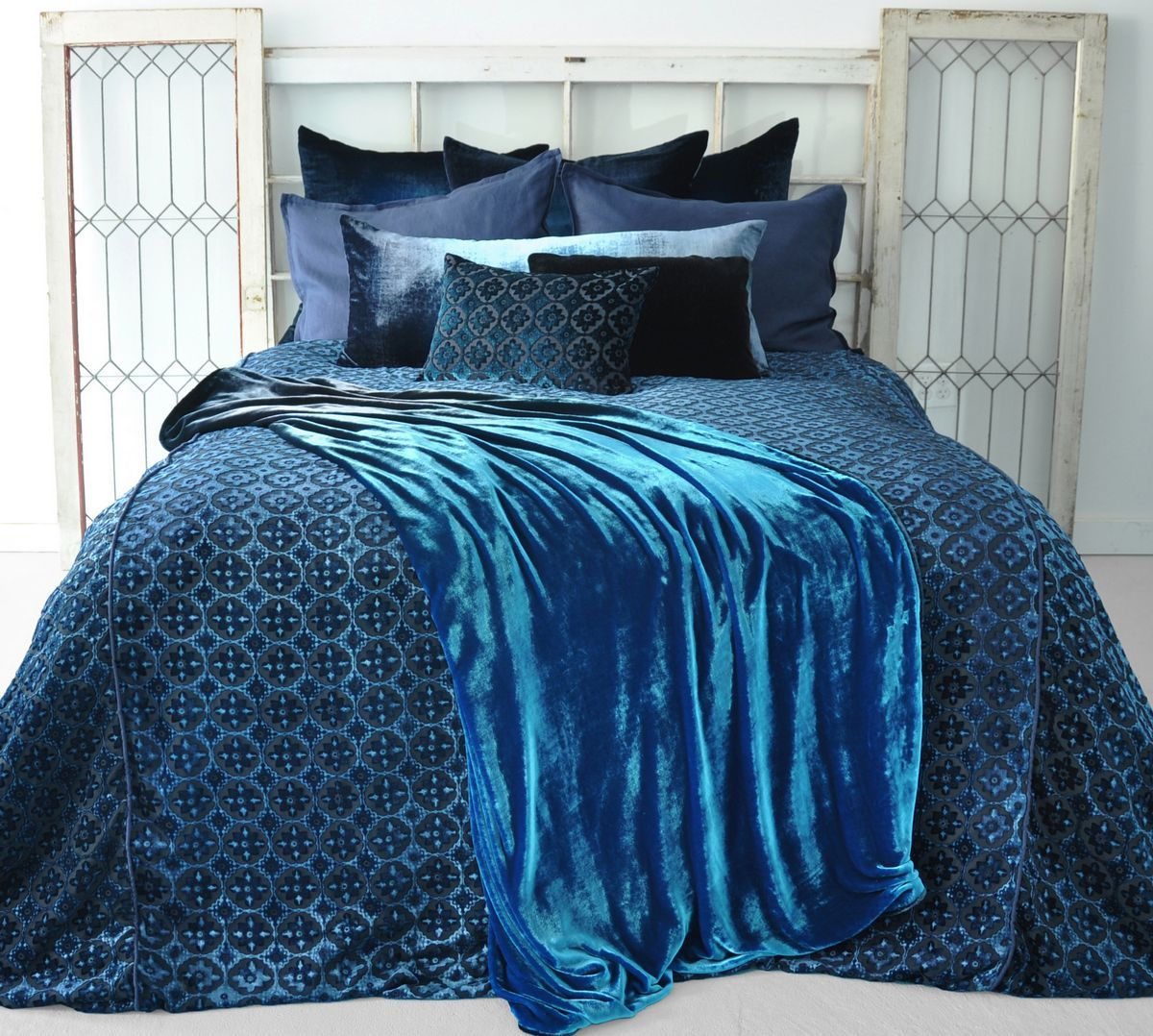 Kevin O Brien Luscious Velvet Bedding Plus Striking