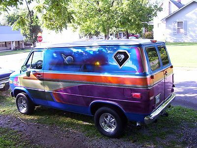 Chevrolet Other Custom Vintage Customized Chevrolet Van House Of