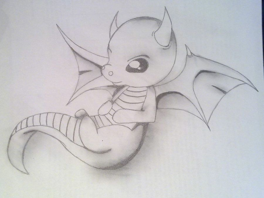 Baby Dragon Drawings | Baby Dragon by ~AMMEX on deviantART | A and B ...