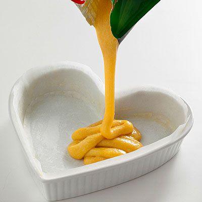 Torta al limone a forma di cuore - Scuola di cucina - Donna Moderna ...