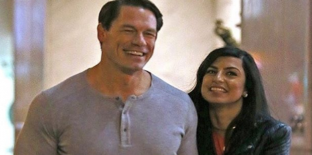 Who Is John Cena S Girlfriend The Cryptic Instagram Photo That Suggests He May Be Engaged To Shay Shariatzadeh John Cena New Girlfriend John Cena And Nikki