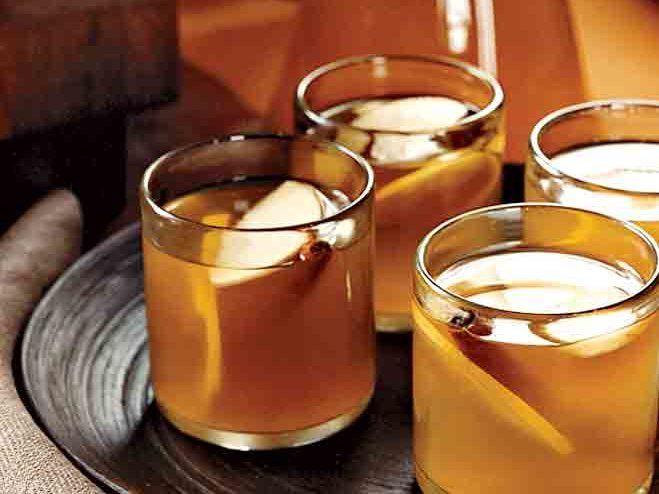 Apple Brandy Hot Toddies Recipe Drinks Thanksgiving Drinks