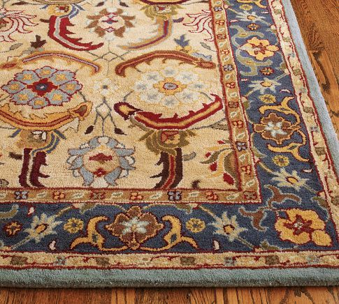 Eva Persian Style Tufted Wool Rug 10x1439 Persian