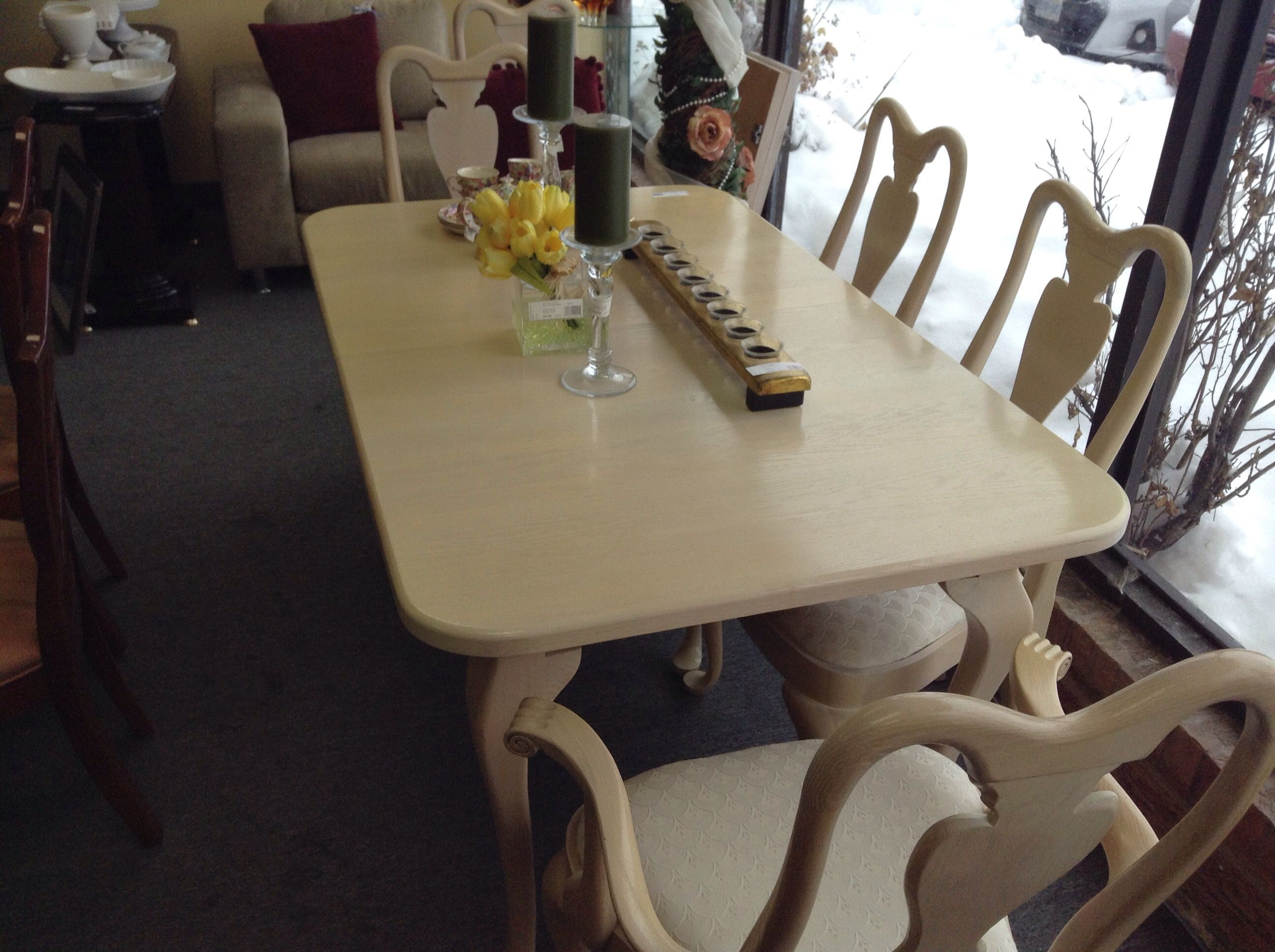 Dining Room Set  Bleached Oak And Traditional Designset Fair Captain Chairs For Dining Room 2018