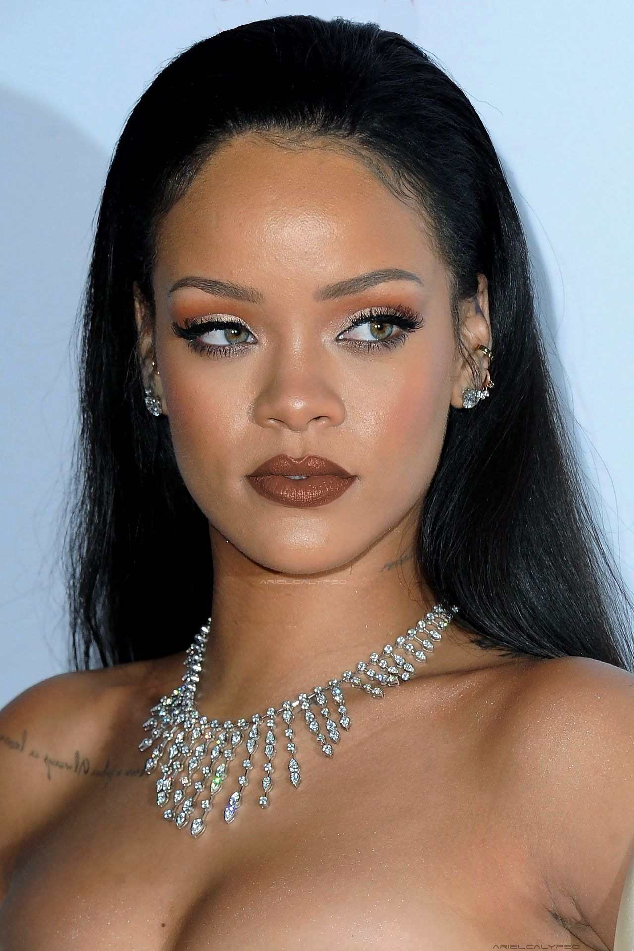 "Rihanna at her 2nd annual ""Diamond Ball"" in Los Angeles ..."