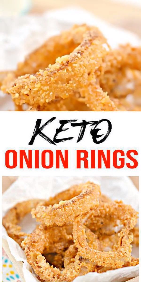 Keto Onion Rings! AMAZING ketogenic diet onion rings - Easy w/ simple ingredient fried low carb onion rings. BEST keto side dish, keto snacks, keto appetizers, keto lunch or keto dinner idea. Try these simple & quick homemade keto fried onion rings with easy onion ring batter. Gluten free, sugar free, healthy keto recipe. Great food idea for low carb diet. Skip the fast food & learn how to ...