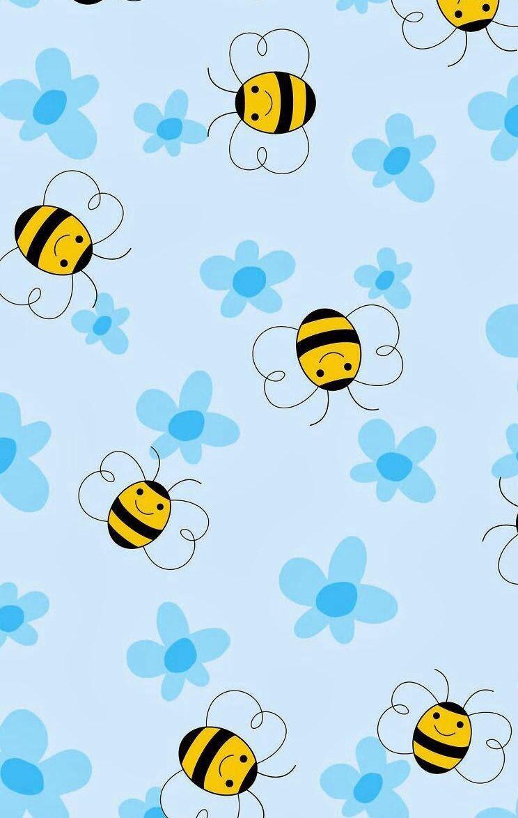 Cute wallpaper Bee wallpapers Pinterest