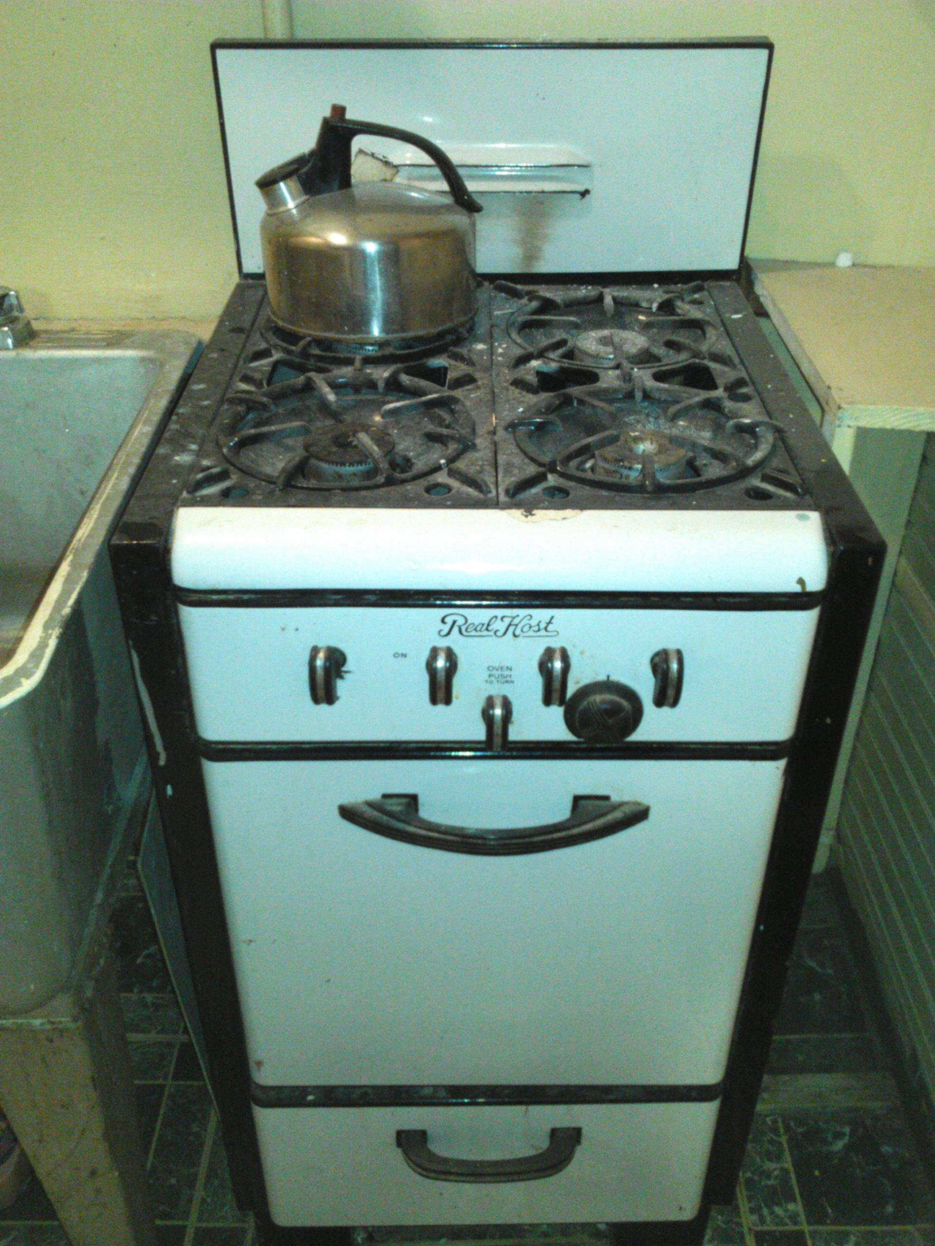 Real Host Brand 20 Real Host Vintage Gas Stove And Oven Works