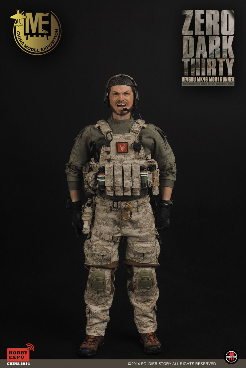 Product Announcement [soldierstory]ZERO DARK THIRTY-DEVGRU MK46 MOD1 GUNNER - OSW: One Sixth Warrior Forum