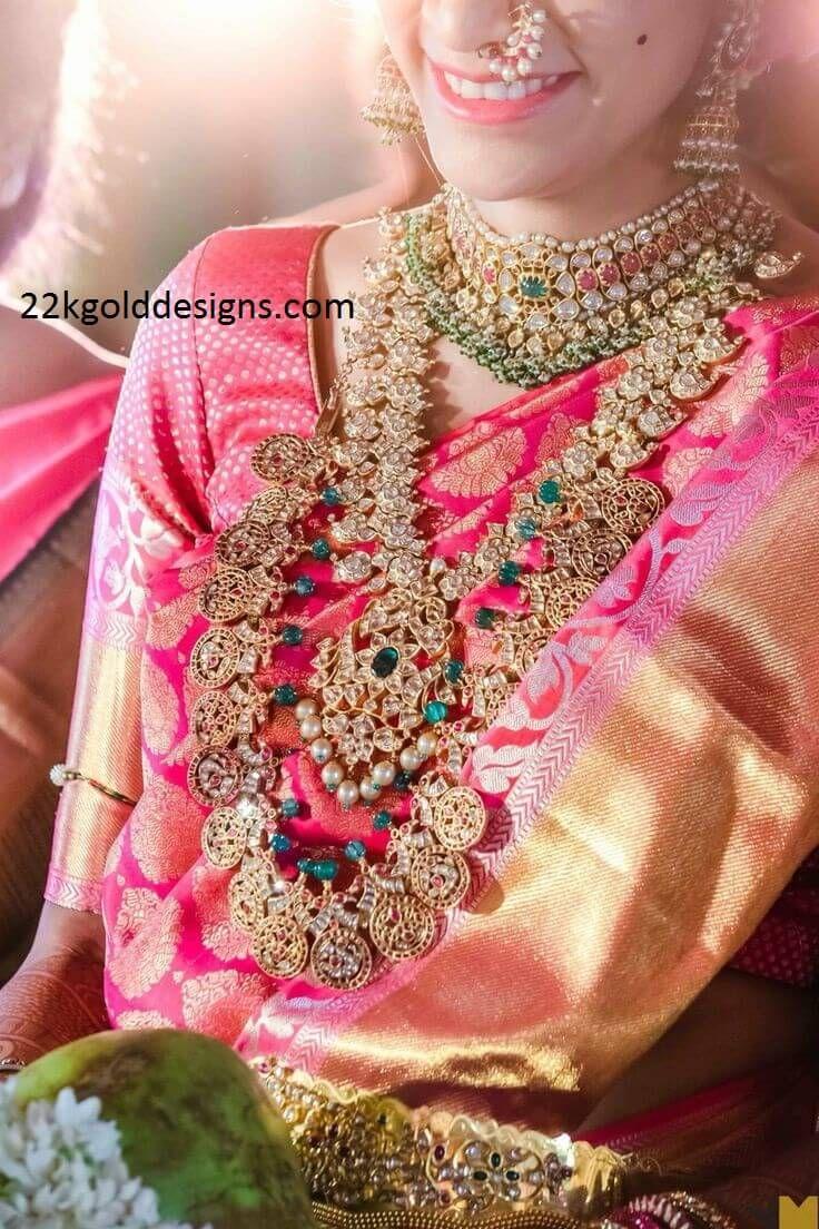 Rich South Indian Bridal Jewellery | WEDDING/DÜGÜNLER | Pinterest ...