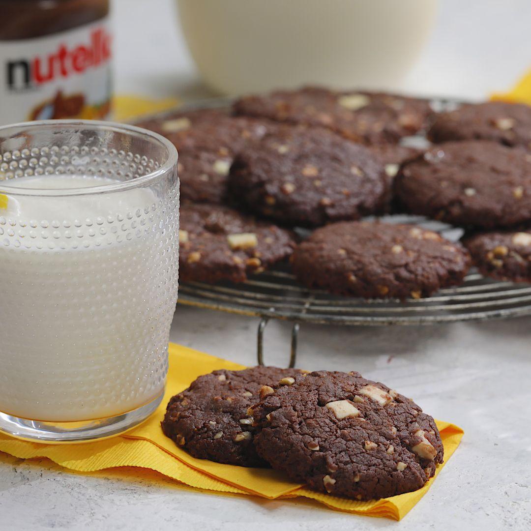 Nutella Cookie Hack #desertlife
