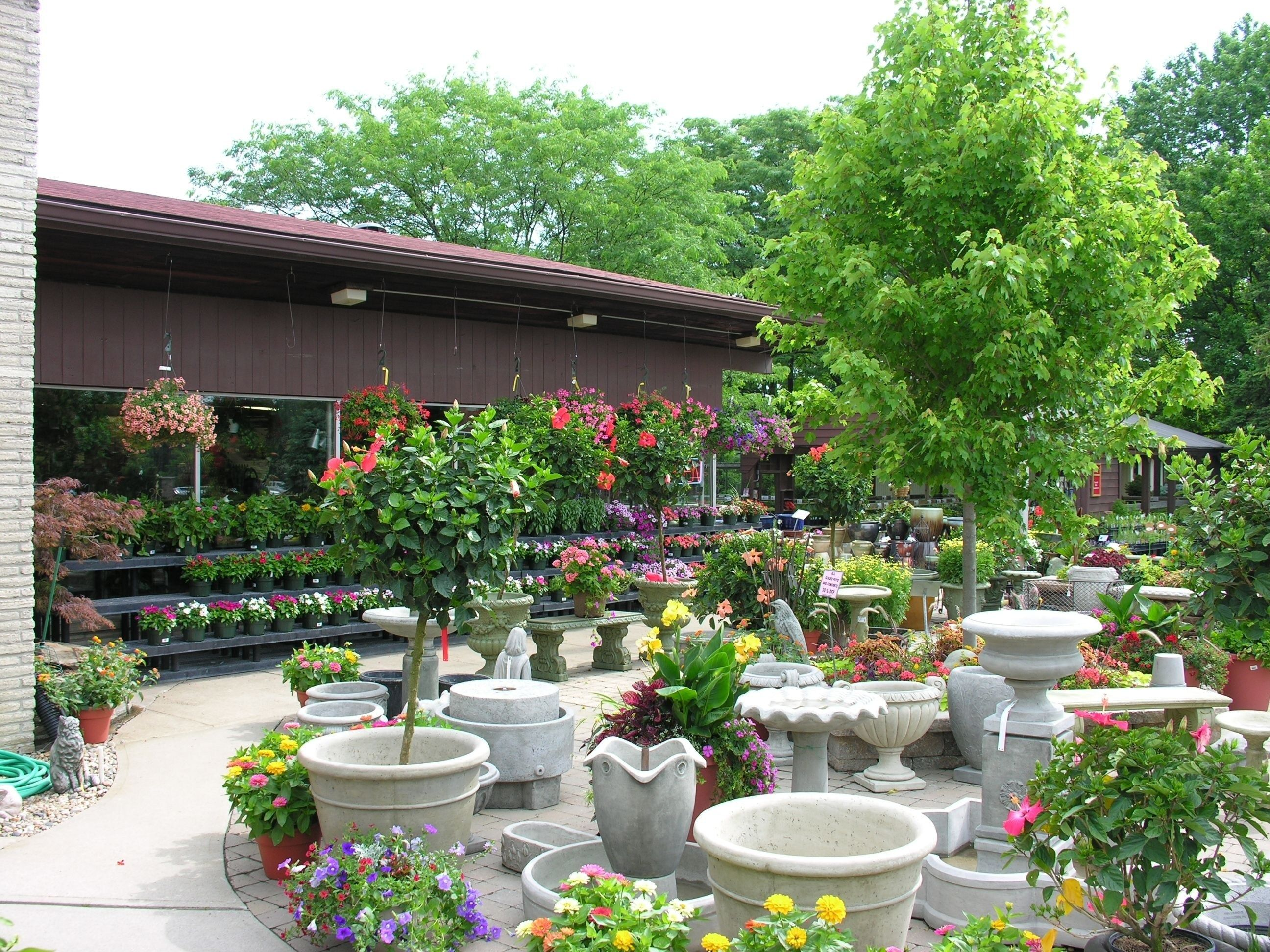 Garden Center Layout Design