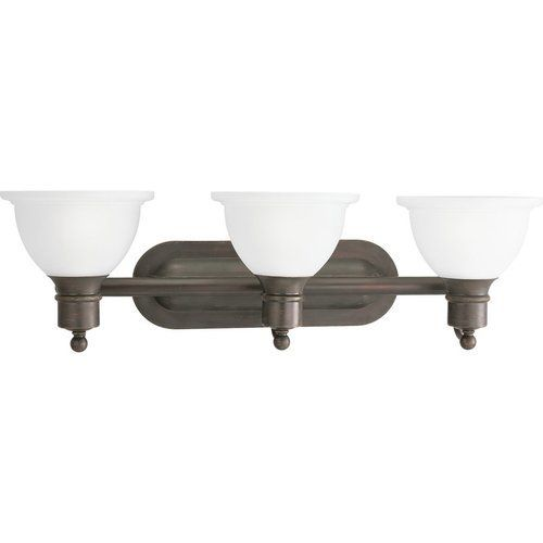 Photo of Progress Lighting Madison 3 Light Bath Light – Antique Bronze P3163-20