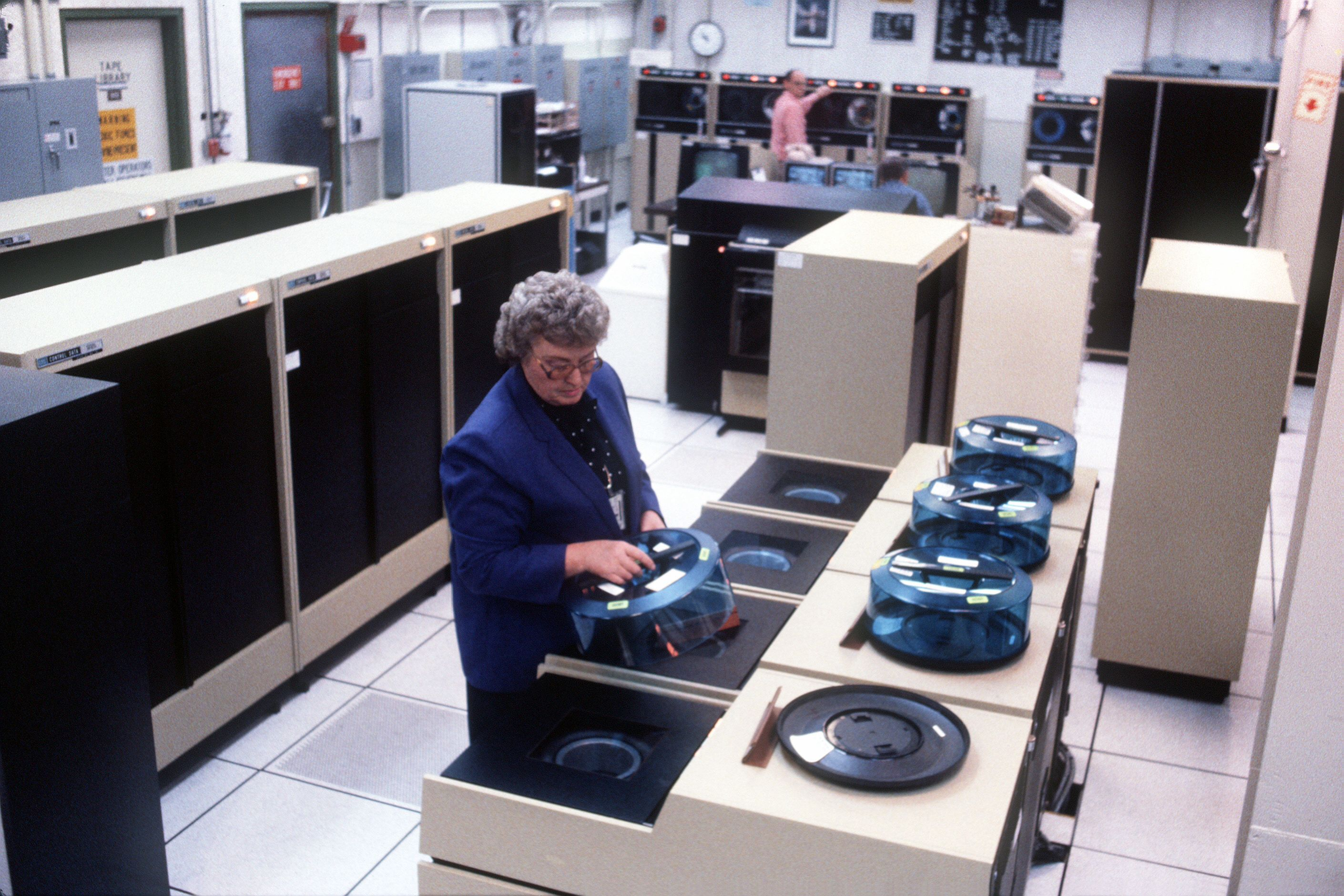 Control Data Cyber Mainframe Computer System Old Computers Old Technology Computer History