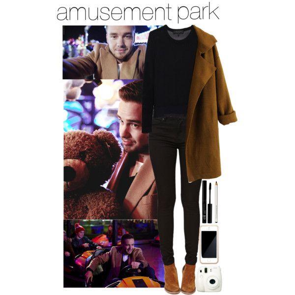 amusement park with Liam x by gabrielareiss on Polyvore featuring rag & bone, Chicnova Fashion, Bullhead Denim Co., Squair and Fuji
