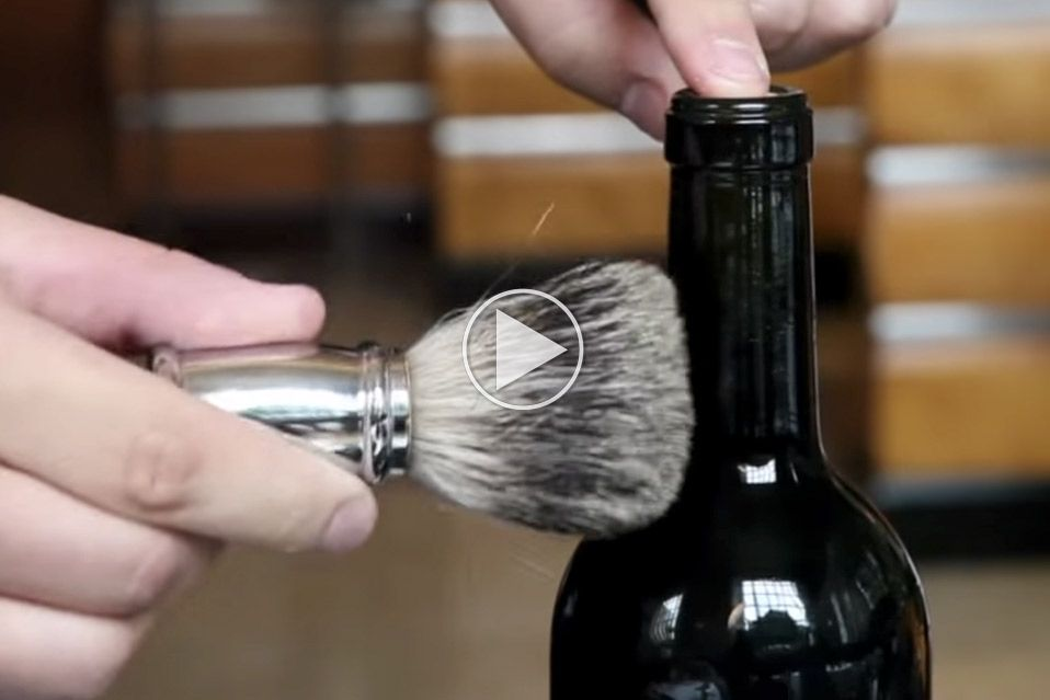How to open a wine bottle when the cork is stuck!