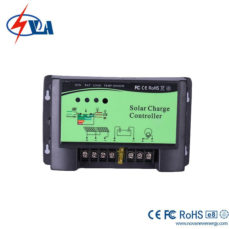 20A 12/24V Hot Sales Best Price Solar Power Controller / PWM Solar Charge Controller Overdischarging Protection For Wind Turbine