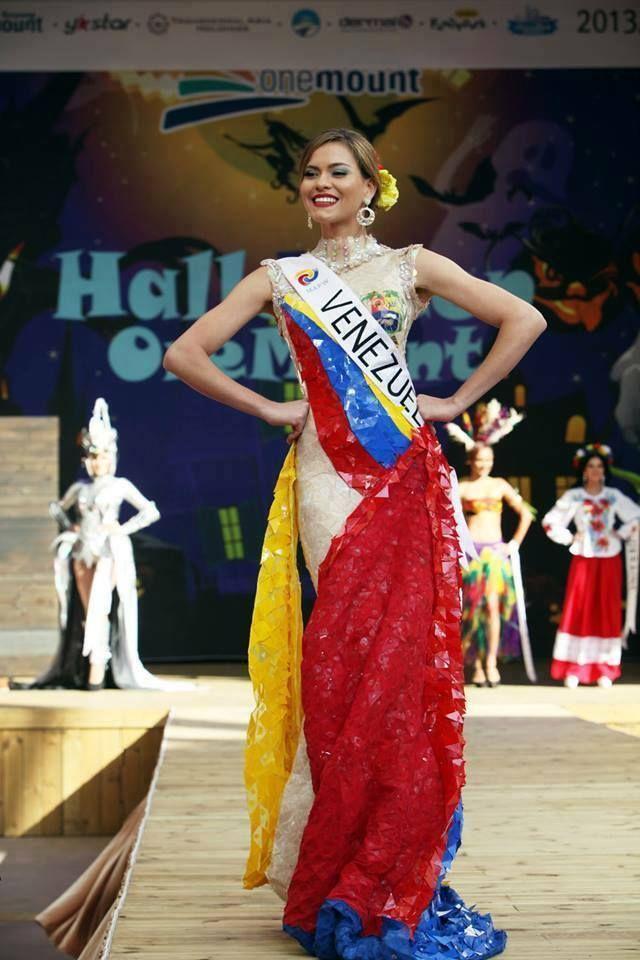 64fb944f2 Venezuela fantasía bandera Trajes Inspirados