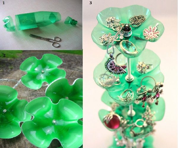 using some plastic bottle decoration ideas http www