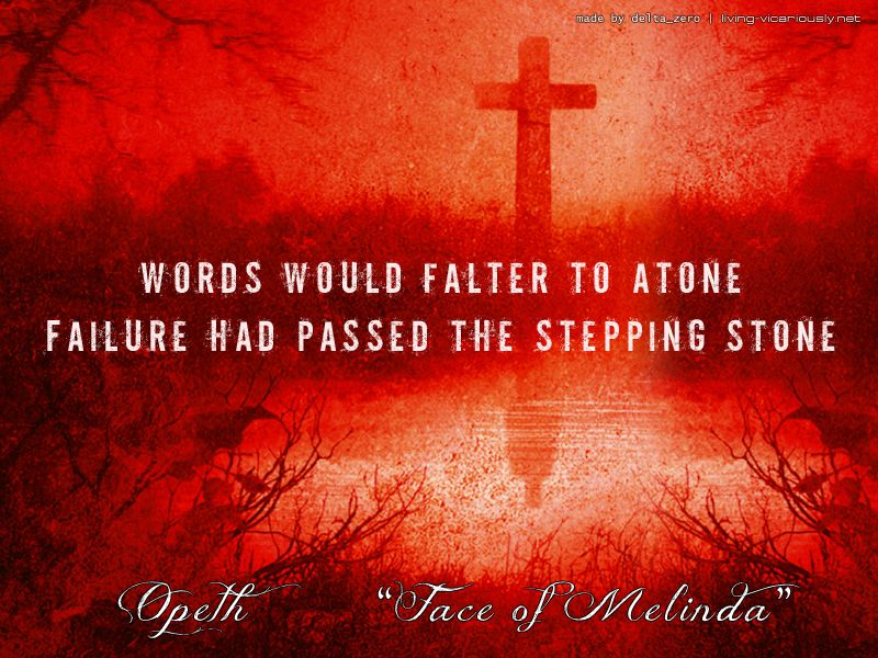 Lyric antichrist superstar lyrics meaning : Opeth -