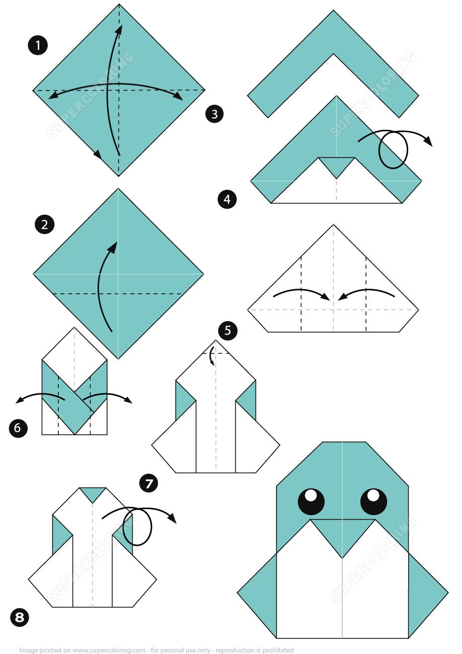 Поделки из бумаги картинки с инструкцией для 4 класса