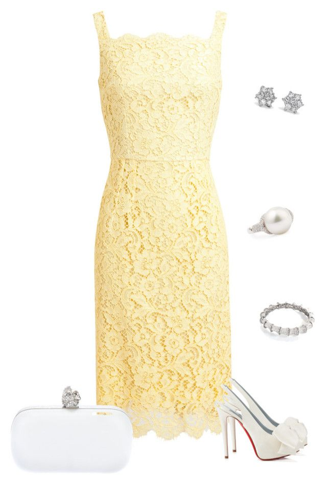 """""""Untitled #934"""" by julia0331 ❤ liked on Polyvore featuring Dolce&Gabbana, Alexander McQueen, Christian Louboutin, Blue Nile and Eli Jewels"""