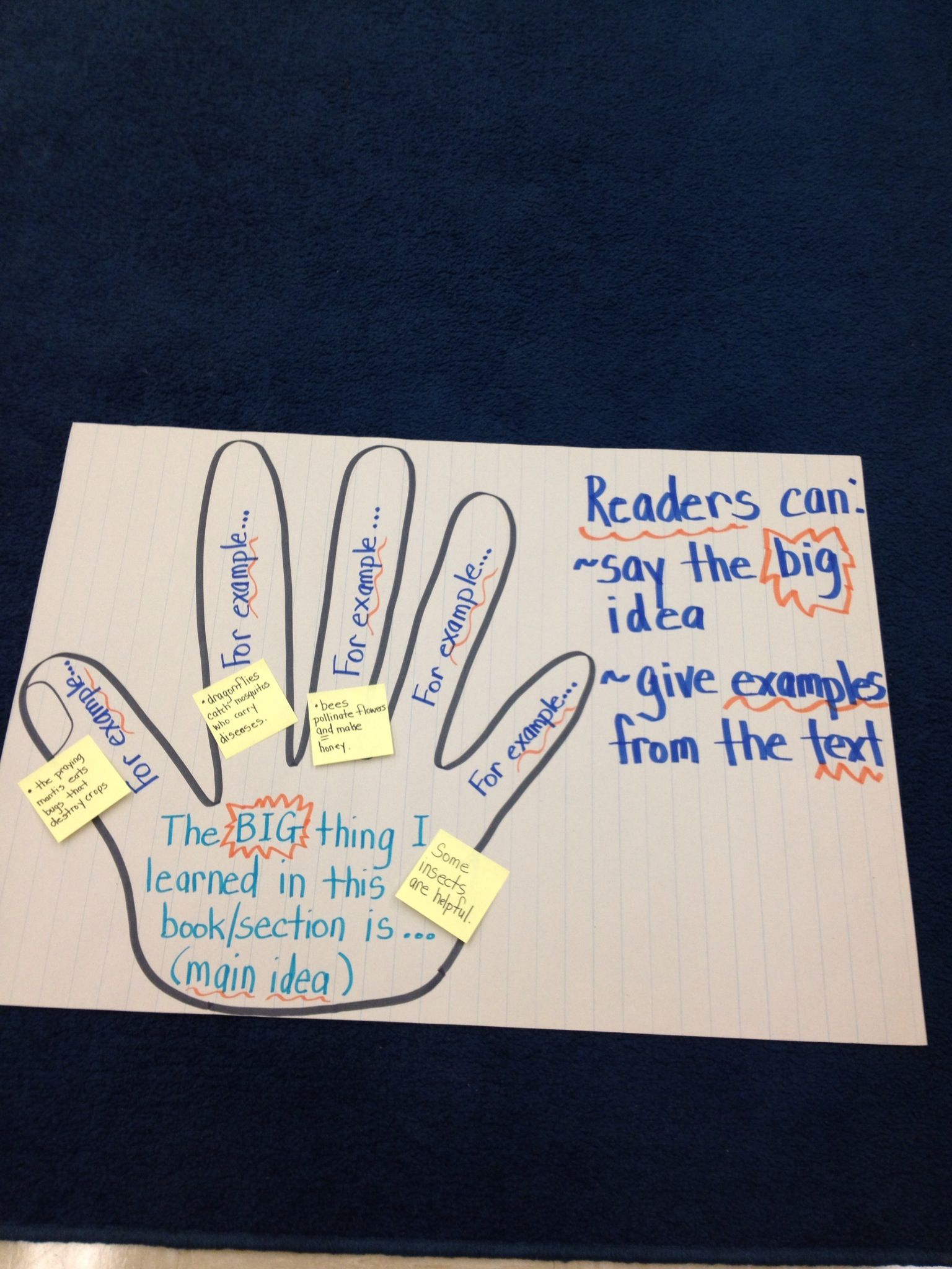 Anchor Chart For Non Fiction