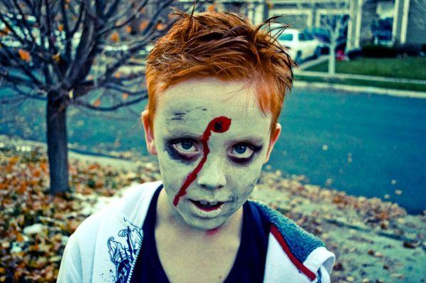 Halloween Makeup Ideas For Women Men And Kids Kids Zombie Makeup Halloween Makeup Scary Zombie Makeup Easy