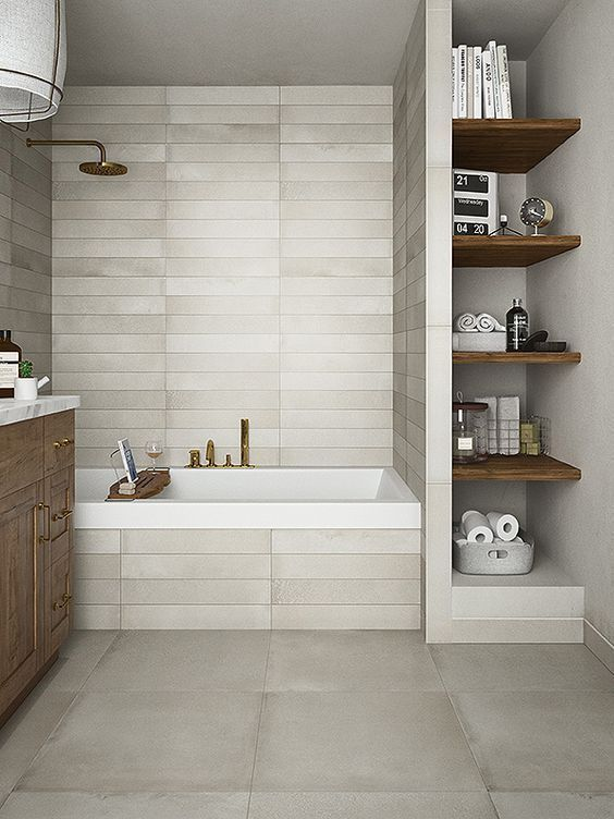 Photo of 52 Built-in Bathroom Shelf And Storage Ideas to Keep Your Bathroom Organized – GODIYGO.COM – Rainforest.bonheurfitness.com