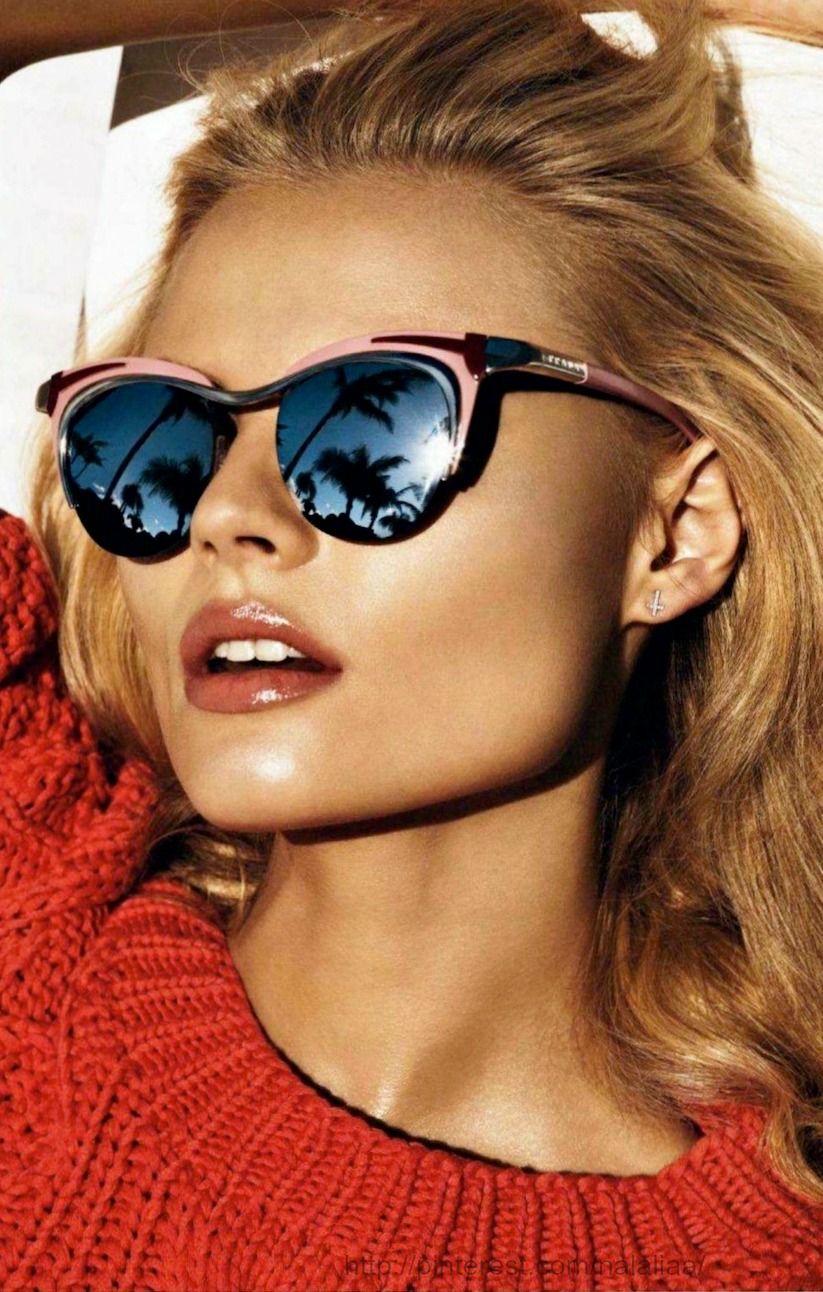 Street style - mirror sunglasses