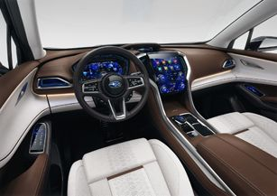 2019 Subaru Ascent Interior 2019 Subaru Pinterest Subaru Cars