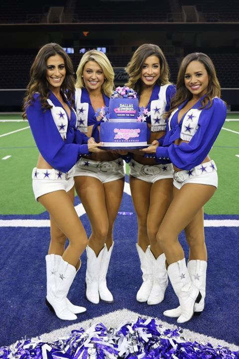 Dallas Cowboys Cheerleaders Feet