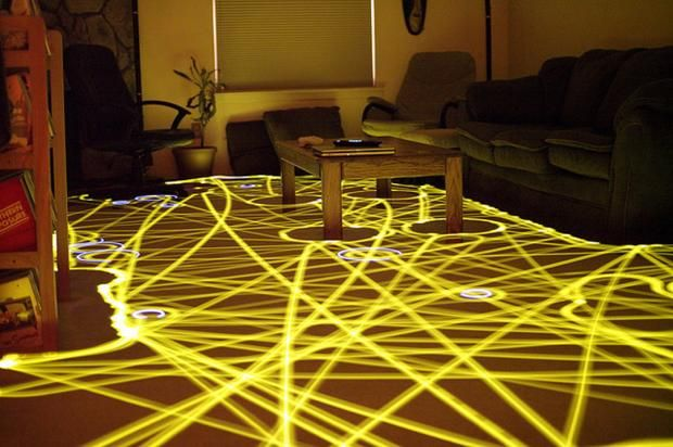 Roombas With LEDs Attached Make BEAUTIFUL Art! (12 Beautiful Images)