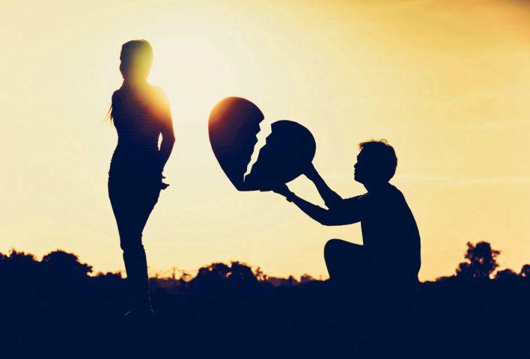 Breakup Images Wallpaper for Love Couple | Broken heart syndrome ...