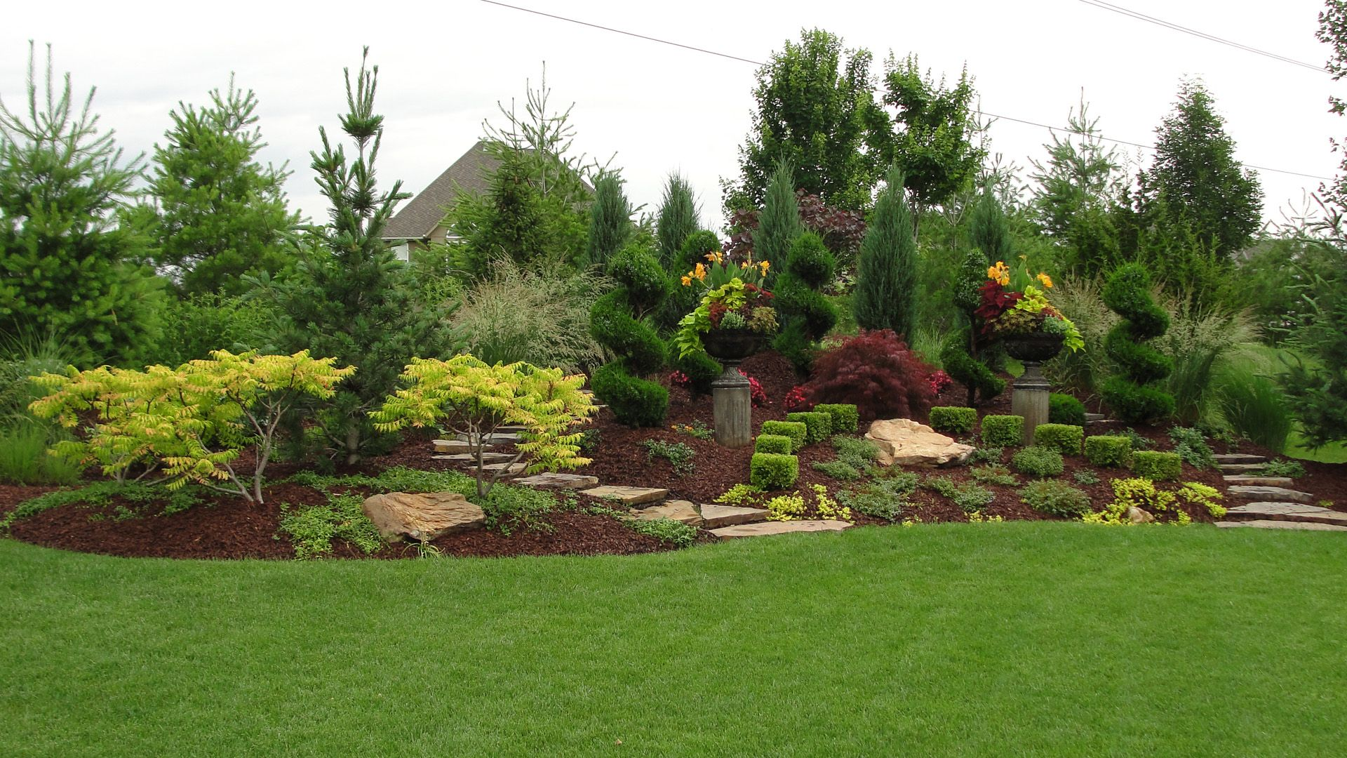 Garden trees for screening  Landscaping trees are one of the primary building blocks of a