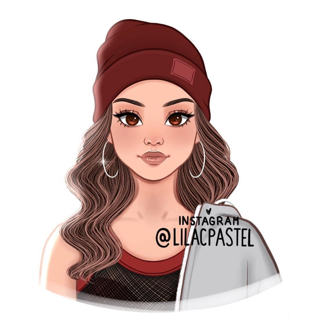 Ledia On Instagram Selenagomez Girly Art Girls Cartoon Art Cartoon Girl Drawing