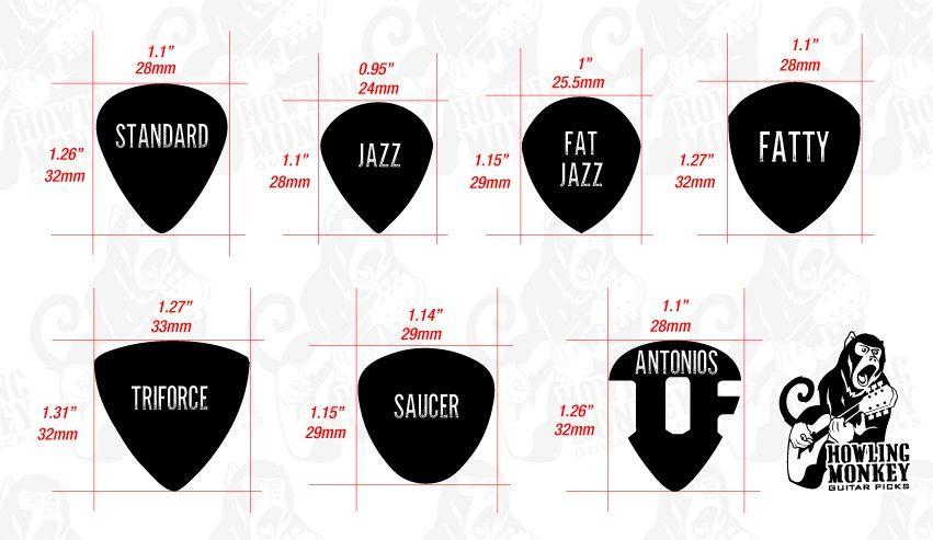 Guitar Pick Dimensions Guitar Guitar Picks Acoustic Guitar Tattoo