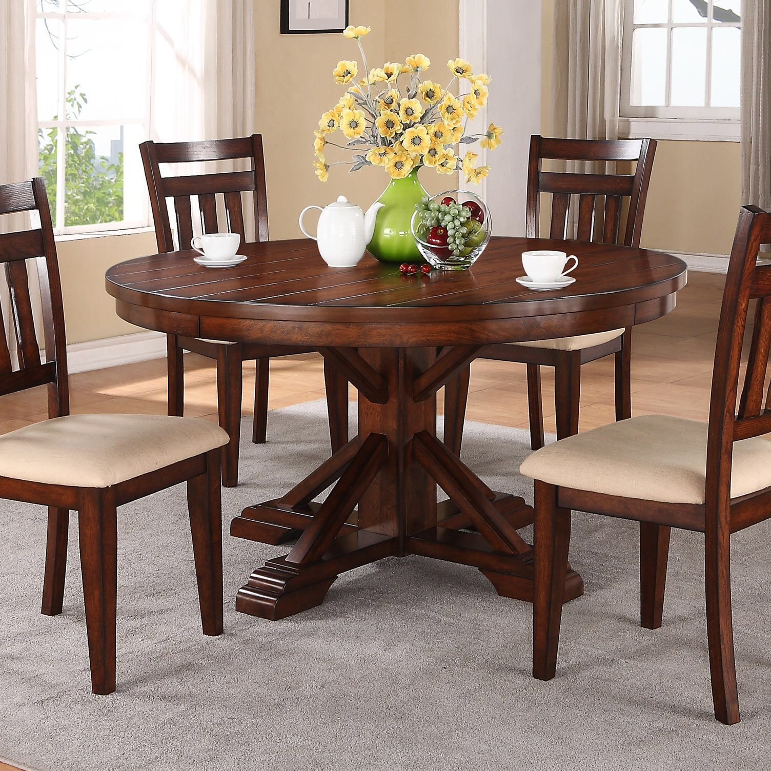 Kingston Dining Table #pubsetinlivingroom