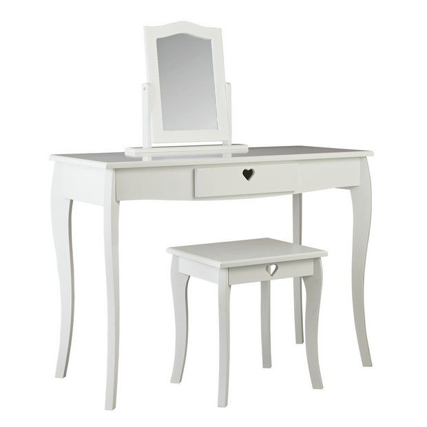 Argos Childrens Table And Chairs White: Buy Argos Home Mia White Dressing Table At Argos