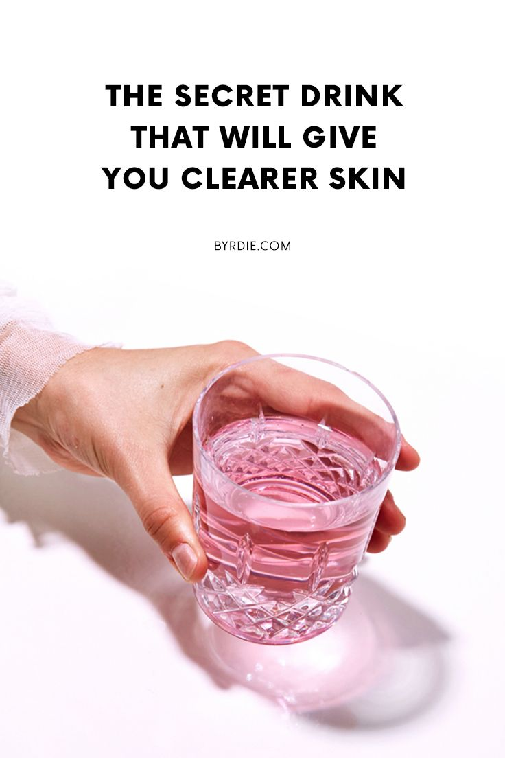 Seriously: This Buzzy Drink Clears Acne and Flattens Your Stomach recommend