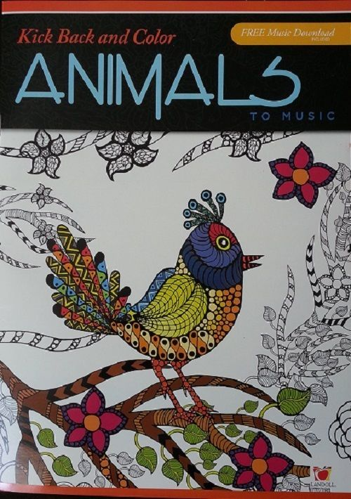 Kick Back and Color Animals To Music Coloring Book Free ...