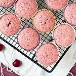 Fresh Cherry Cupcakes