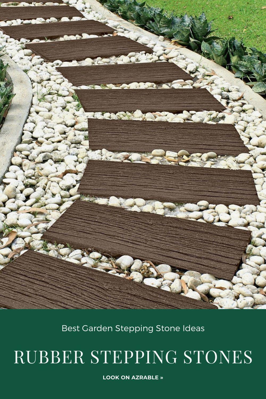 Modern Rubber Stepping Stones Ideas Garden Stepping Stones Minimalist Garden Backyard Landscaping Designs Backyard diy stepping stones
